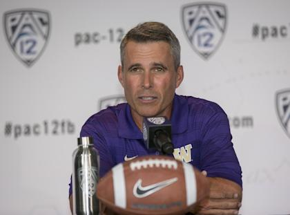 The Huskies are a sexy pick to make noise in the Pac-12 North, thanks to new coach Chris Petersen. (AP)