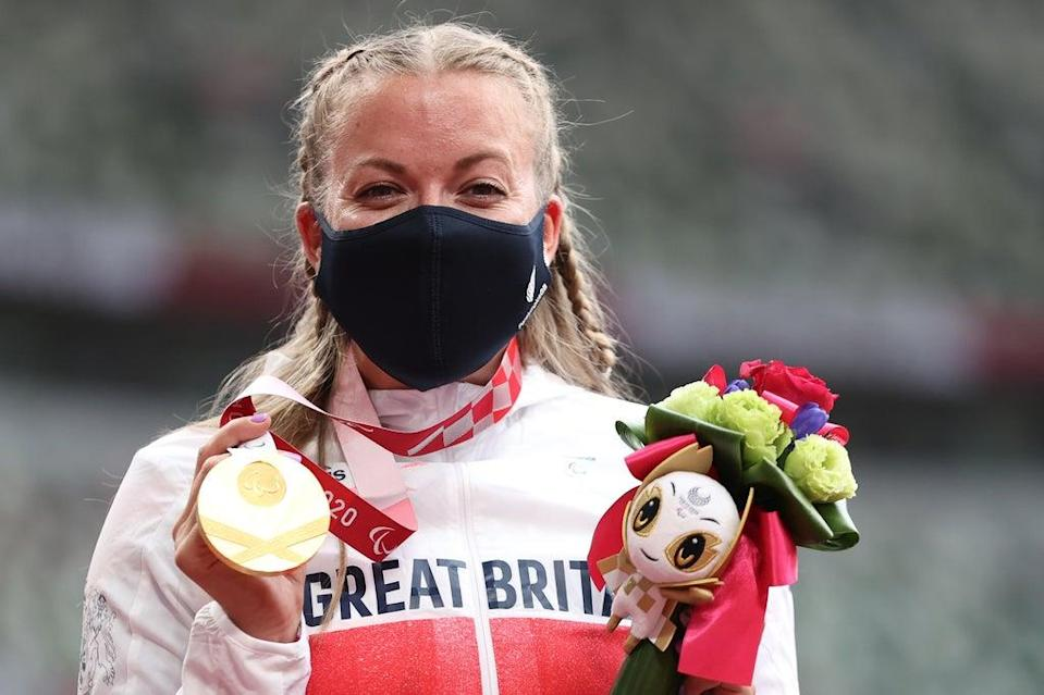 GB's Hannah Cockroft is now a six-time Paralympic champion  (Getty Images)