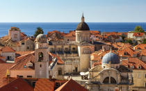<p>Self-confessed 'Game of Thrones' fans are sure to seek out Dubrovnik's Old Town while Croatia's medieval forts and monasteries continue to drive old fashioned tourists to the country. <em>[Photo:</em> G<em>etty]</em> </p>