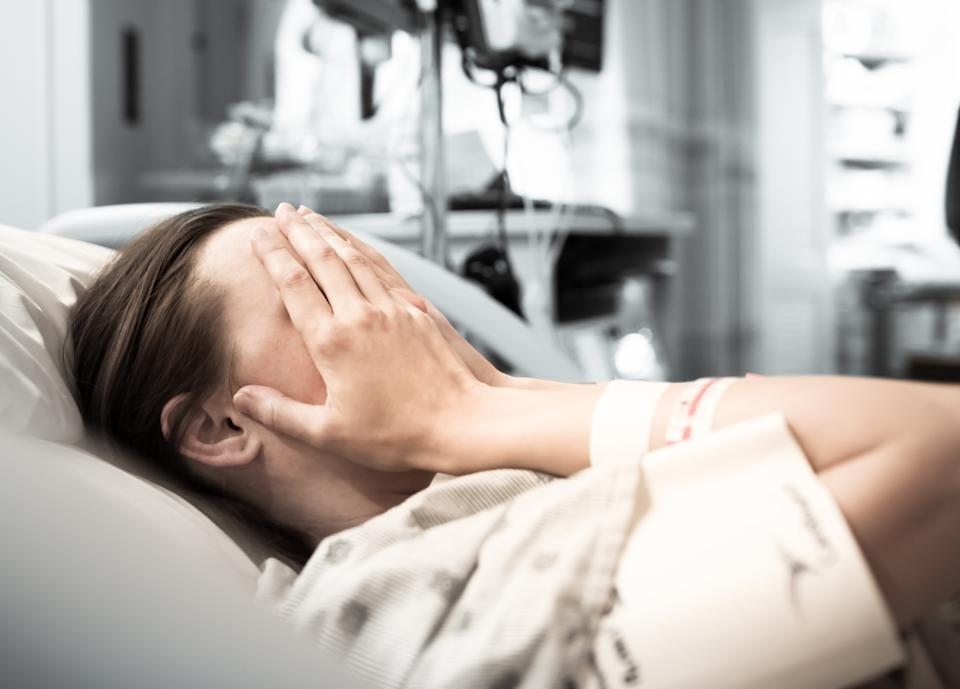 New research has revealed one in six women who suffer early-pregnancy loss go on to suffer from PTSD [Photo: Getty]