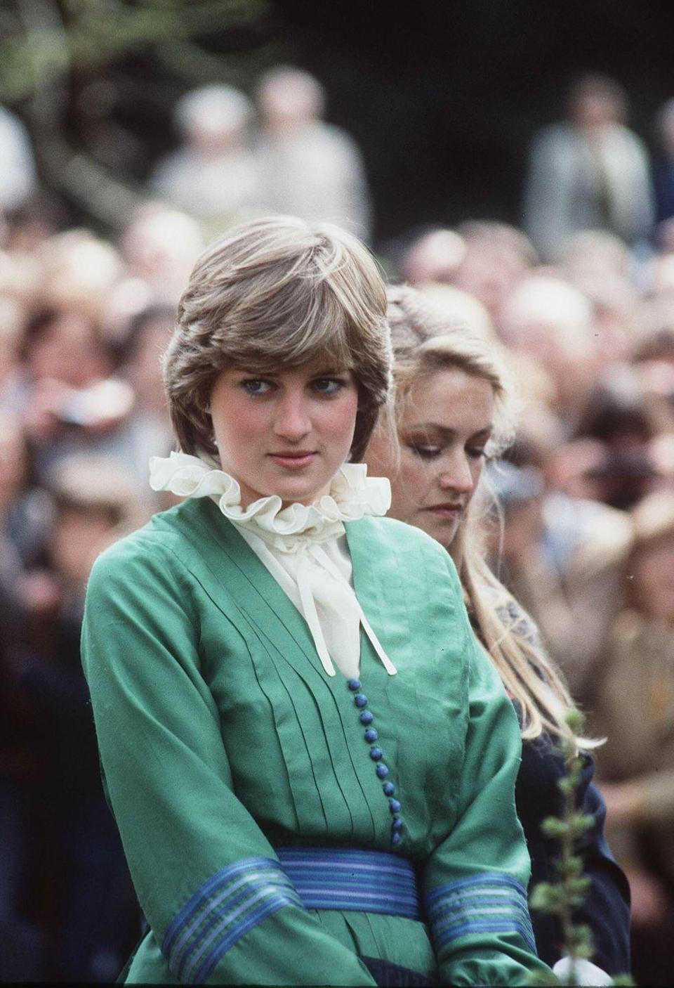 <p>Diana visits Broadlands shortly before her wedding in May 1981.</p>