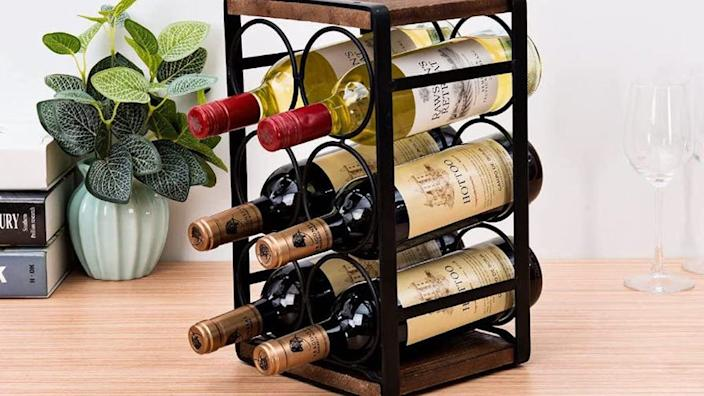 Store your wine in style.