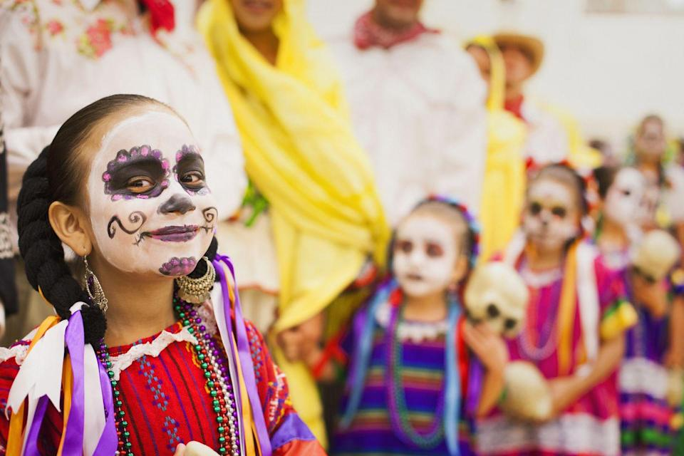 <p>While a holiday focused on those who've passed away, Dia de Muertos is a joyful occasion. It's a true celebration of life, marked by costumes and makeup, festive foods, parades, humor, and decorative tributes to the dead.</p>