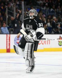 Chris Morgan suggests taking a look at Kings netminder Jonathan Quick against the visiting Devils on Thursday.