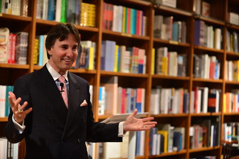Author Dr. John Demartini at a book-signing in 2014 in Florida, America. (Photo by Vallery Jean/FilmMagic via Getty)
