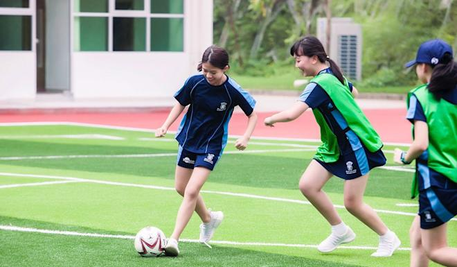 International schools in Shenzhen are offering more time for students to take part in extracurricular activities. Photo: Merchiston International School