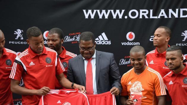 """EXTRA TIME: Watch Lesufi joke: """"One day Moroka Swallows will return"""" at Orlando Pirates conference"""