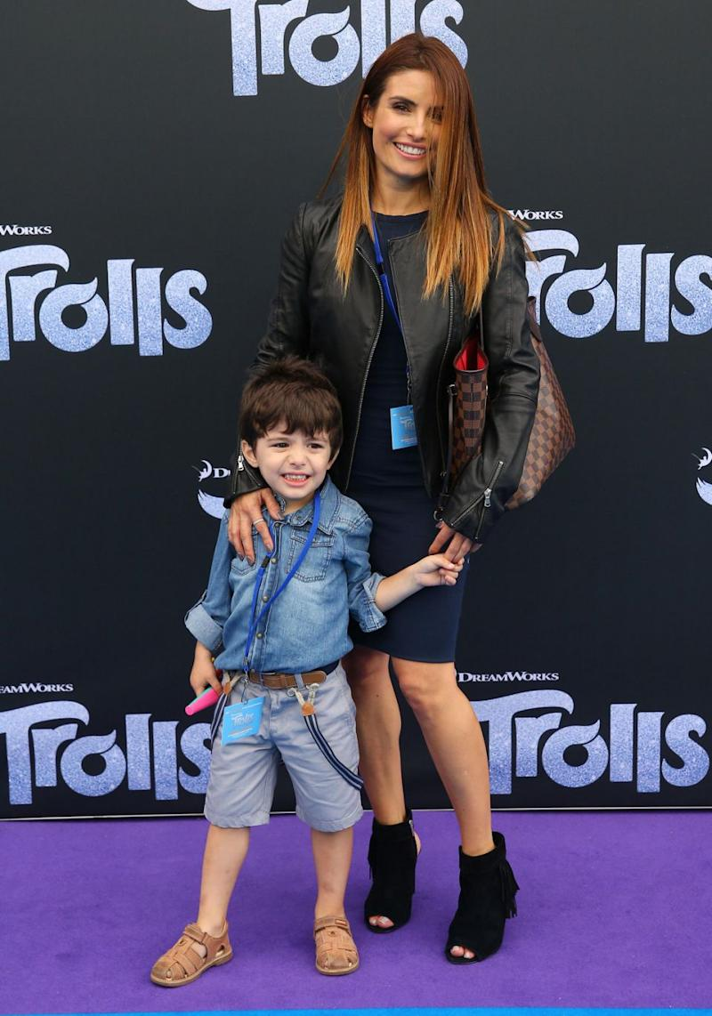 Ada is a mother to young son Johnas. Source: Getty