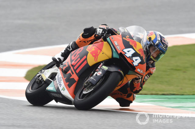 """#44 Miguel Oliveira (Moto2) - 2018 <span class=""""copyright"""">Gold and Goose / Motorsport Images</span>"""