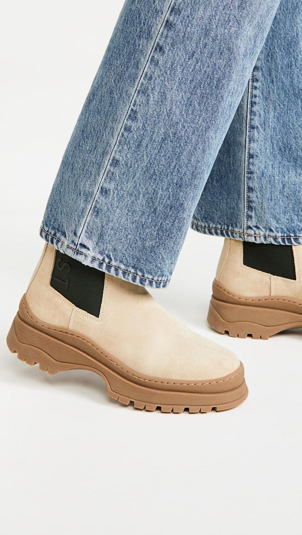 <p>We love all the details on these cool <span>Last Powder Chelsea Boots</span> ($300). Your friends will surely be asking where they are from.</p>
