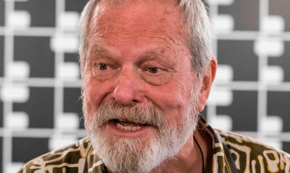 Terry Gilliam at the Karlovy Vary film festival (Credit: Getty)