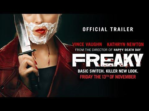 """<p>From the moment the trailer for <em>Freaky </em>dropped, millions of people knew that it was going to be incredible. The body-swapping horror film might be a gore-fest, but it continues to prove why Blumhouse is on top when it comes to horror films. Kathryn Newton and Vince Vaughn are absolutely hilarious as their swapped counterparts. And it truly shows that the horror genre deserves a lot more praise than it has gotten in recent years.</p><p><a class=""""link rapid-noclick-resp"""" href=""""https://www.amazon.com/Freaky-Vince-Vaughn/dp/B08P2FC246/?tag=syn-yahoo-20&ascsubtag=%5Bartid%7C10065.g.34978265%5Bsrc%7Cyahoo-us"""" rel=""""nofollow noopener"""" target=""""_blank"""" data-ylk=""""slk:Watch Now"""">Watch Now</a></p><p><a href=""""https://www.youtube.com/watch?v=EqPnIcDW9g0"""" rel=""""nofollow noopener"""" target=""""_blank"""" data-ylk=""""slk:See the original post on Youtube"""" class=""""link rapid-noclick-resp"""">See the original post on Youtube</a></p>"""