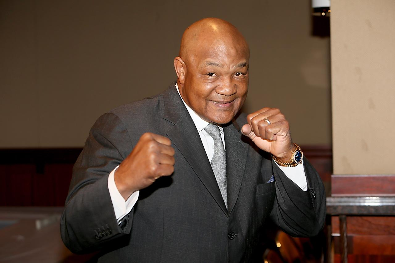 <p>After his retirement from boxing, former heavyweight champ George Foreman founded a youth centre for troubled children to train and play sports.<br />Overwhelmed by costs, Foreman refused to shut down the centre. Faced with bankruptcy, he instead returned to the ring in an attempt to pay his debts. Incredibly, Foreman won in his first fight after 10 years and would go on to become the oldest man to hold the heavyweight title.<br />That led Foreman tosign a deal to put his name on a lean meat and fat-reducing grill. By 2012, when George was 63, the grills were the biggest contributor to a net worth of more than $300m. Foreman continues to run his youth charity. (Gary Miller/FilmMagic/Getty) </p>