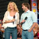 <p>Yep, even Uma Thurman graced the hallowed halls of <em>TRL</em>. No A-lister was safe!</p>