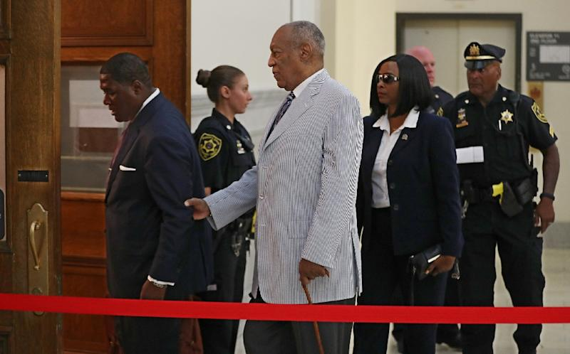 The vast majority of alleged abuses happened too long ago to prosecute, making the Andrea Constand case the only criminal charge brought against Bill Cosby (AFP Photo/Michael Bryant)