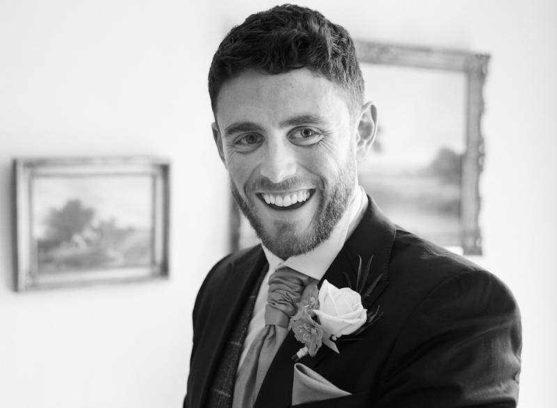 PC Andrew Harper on his wedding day. He had been due to go on his honeymoon the week after he was killed. (PA)
