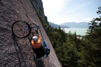Quadriplegic rock climber Brad Zdanivsky has admitted to boosting to improve performance — Twitter