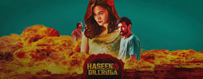 A poster of Haseen Dillruba, now streaming on Netflix.