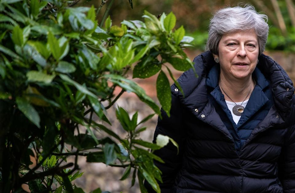 The Prime Minister's deal will be voted on before the EU elections (Getty)