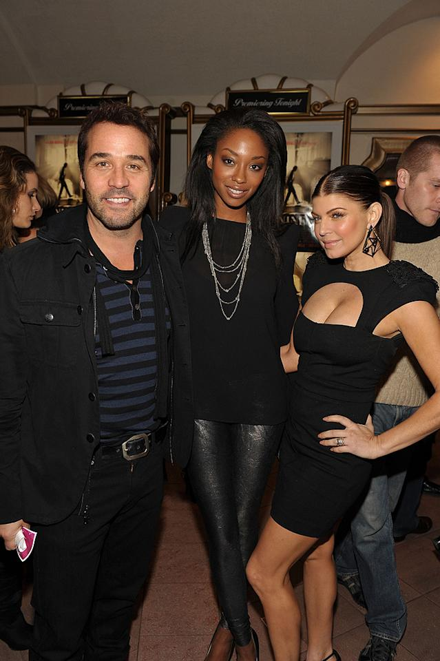 "<a href=""http://movies.yahoo.com/movie/contributor/1800022783"">Jeremy Piven</a>, <a href=""http://movies.yahoo.com/movie/contributor/1809689627"">Tanisha Harper</a> and <a href=""http://movies.yahoo.com/movie/contributor/1809169648"">Stacy Ferguson</a> at the Los Angeles premiere of <a href=""http://movies.yahoo.com/movie/1810053986/info"">Nine</a> - 12/09/2009"