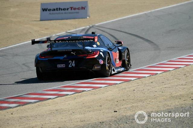 "#24 BMW Team RLL BMW M8 GTE, GTLM: Jesse Krohn, John Edwards <span class=""copyright"">Richard Dole / LAT Images</span>"