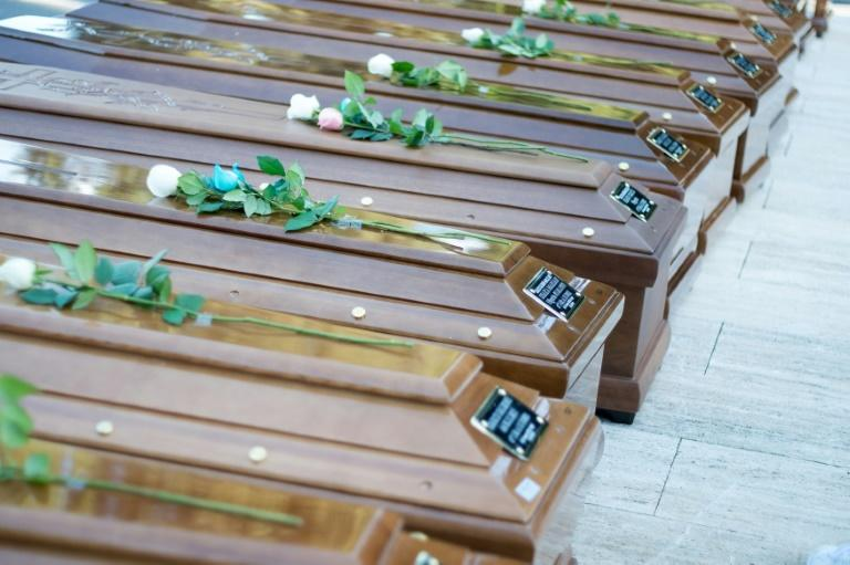 Most of the graves will be marked by number only, as officials were able to identify just two of girls and women