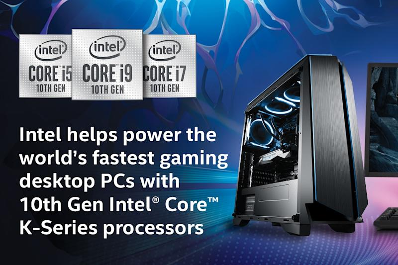 Intel helps power the world's fastest gaming desktop PCs with 10th Gen Intel® Core™ K-Series processors