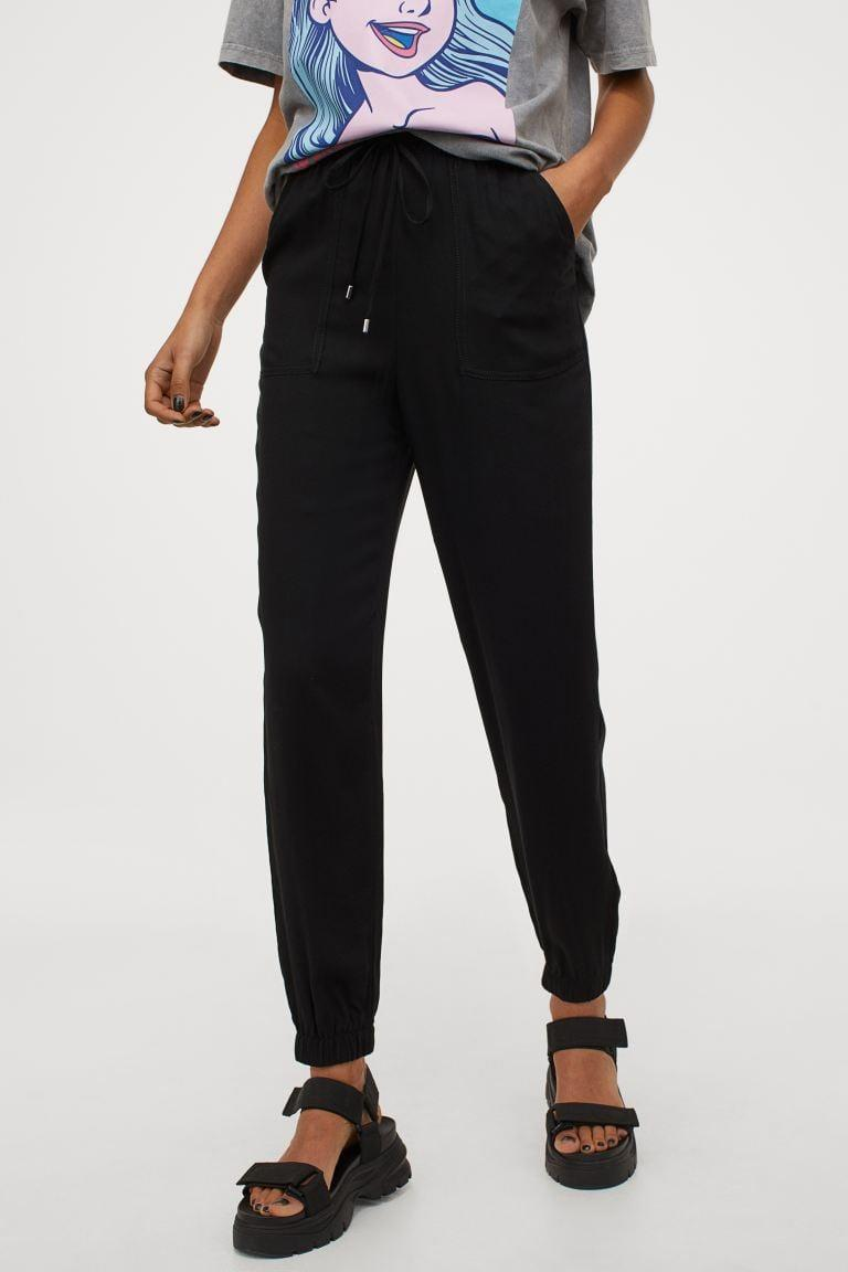 <p>You'll own these <span>H&amp;M Pull-on Pants</span> ($18) forever.</p>