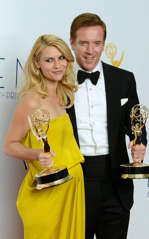 Claire Danes and Damian Lewis hold the awards for Outstanding Actress and Actor in a Drama Series for their roles in 'Homeland' - Credit: Paul Buck