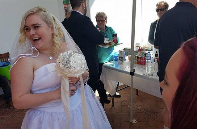 Asked if she wanted onions, Mrs Wilson said 'I do'. Picture: Jordan Wilson