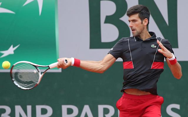 Novak Djokovic had previously cast doubt over his grass court season - UPI / Barcroft Media