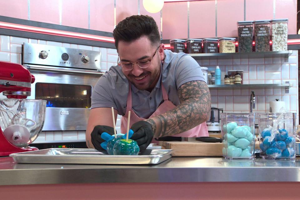 """<strong><em>Nailed It<br><br></em></strong>Do you enjoy spending your time watching strangers bake delectable treats? Then it's likely you've already come across <em>Nailed It</em>. The Emmy-nominated US series is back for a new season, with contestants having to bake a series of difficult culinary delights in order to win a $10,000 prize. <br><br>Available 15th September<span class=""""copyright"""">Photo Courtesy of Netflix.</span>"""