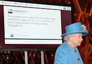 <p>She is also on Twitter and Instagram, represented by @theroyalfamily, an account run by palace staffers. </p>