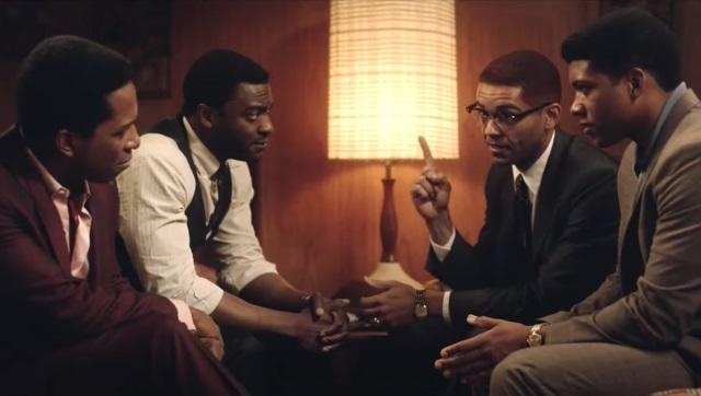Sam Cooke, Jim Brown, Malcolm X and Muhammad Ali in a Miami hotel room