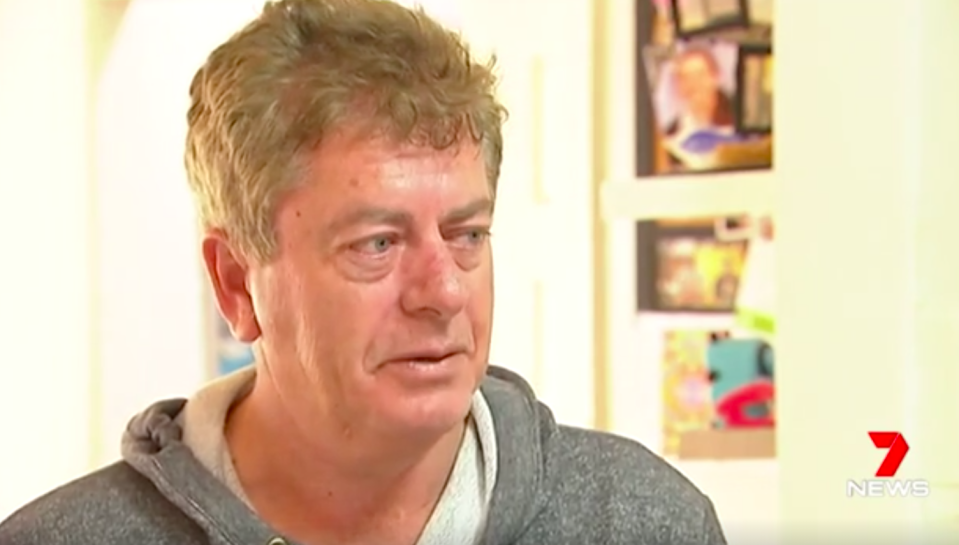 """""""That's 24 hours of my life that I'd quite happily not do again"""", Eugene Regan said. Source: 7 News"""