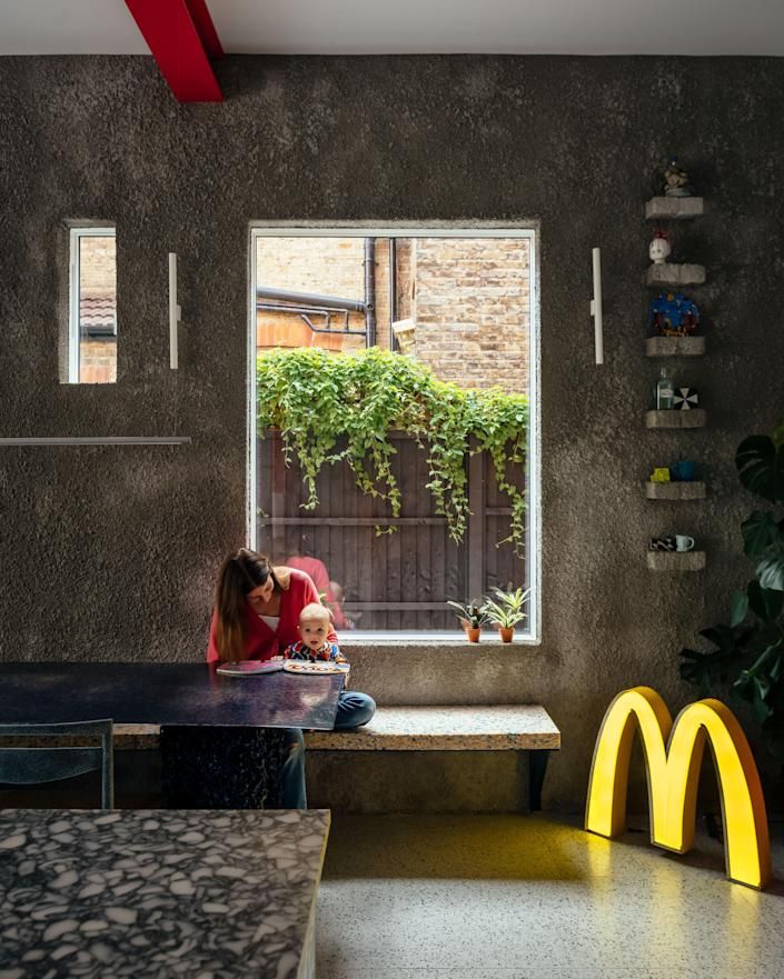 """I used to work at McDonald's when I was younger for about four years,"" Mat divulges."