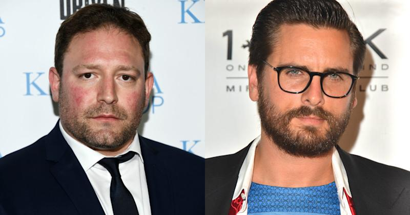 Rivals: David Weintraub slammed ex-client Scott Disick in a scathing interview (Copyright: Getty/Amanda Edwards/Mindy Small)