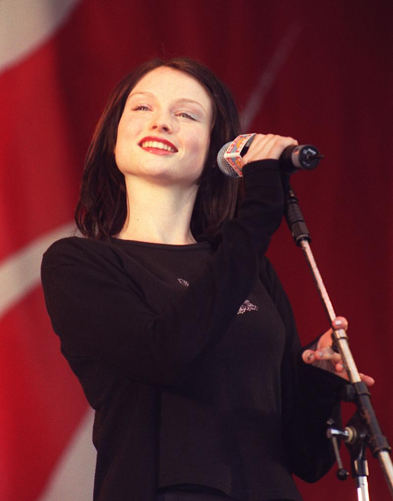 Singer Sophie Ellis Bextor, performing with Spiller on stage at the BRMB Party in the Park at the Alexander Stadium, Birmingham. * 9/12/2000: Pop sensations Westlife are hoping to pick up the Record Of The Year title for the second consecutive time as the nation chooses its favourite song with a massive phone poll. The group features on a shortlist of 10 acts - including Robbie Williams and All Saints - who are up for the title which is now in its third year. (Photo by James Arnold - PA Images/PA Images via Getty Images)