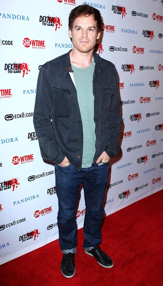 "Michael C. Hall (""Dexter"") at Showtime's ""Dexter 2: The Game"" party during Comic-Con International on July 12, 2012 in San Diego, California."