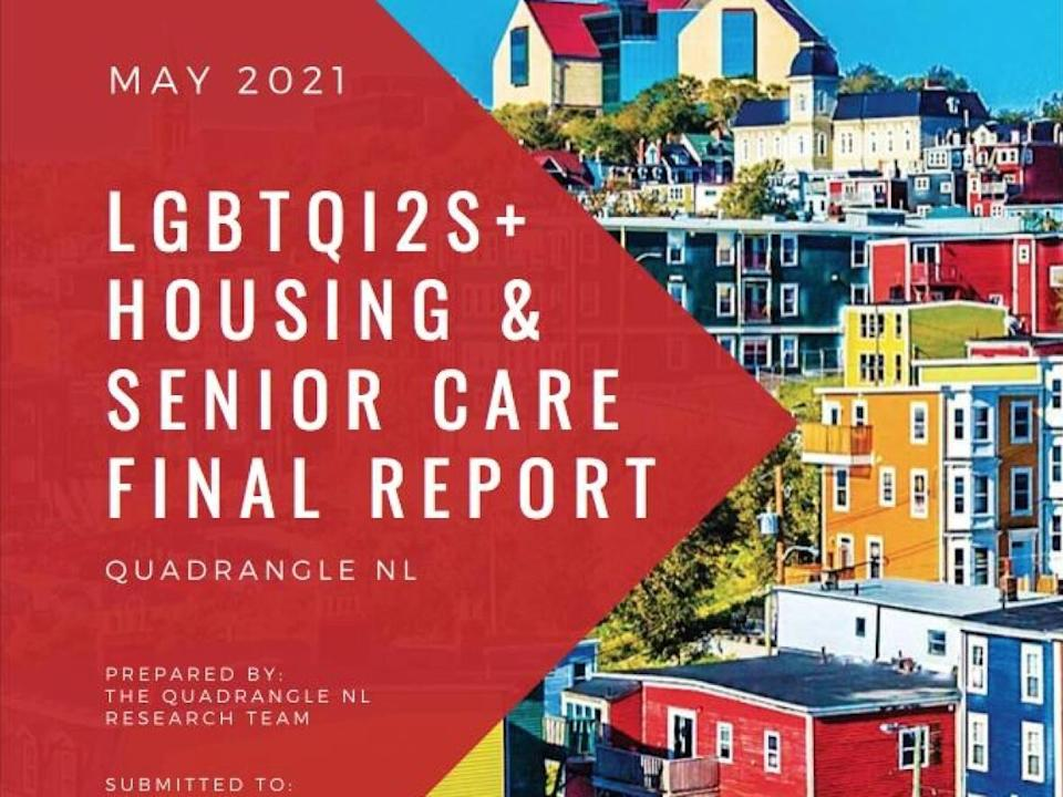 The report was compiled by Quadrangle N.L., with help from Gray Gays N.L. and the City of St. John's. (Submitted by Charlie Murphy - image credit)