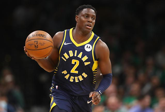 """After a decade in the league playing for five different teams, 31-year-old <a class=""""link rapid-noclick-resp"""" href=""""/nba/players/4626/"""" data-ylk=""""slk:Darren Collison"""">Darren Collison</a> is officially retiring from the NBA. (Maddie Meyer/Getty Images)"""