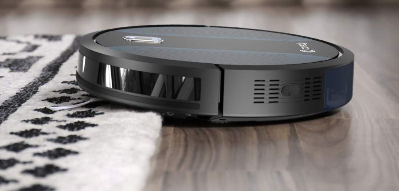 The Coredy robot vacuum cleaner can even navigate carpet. (Photo: Amazon)