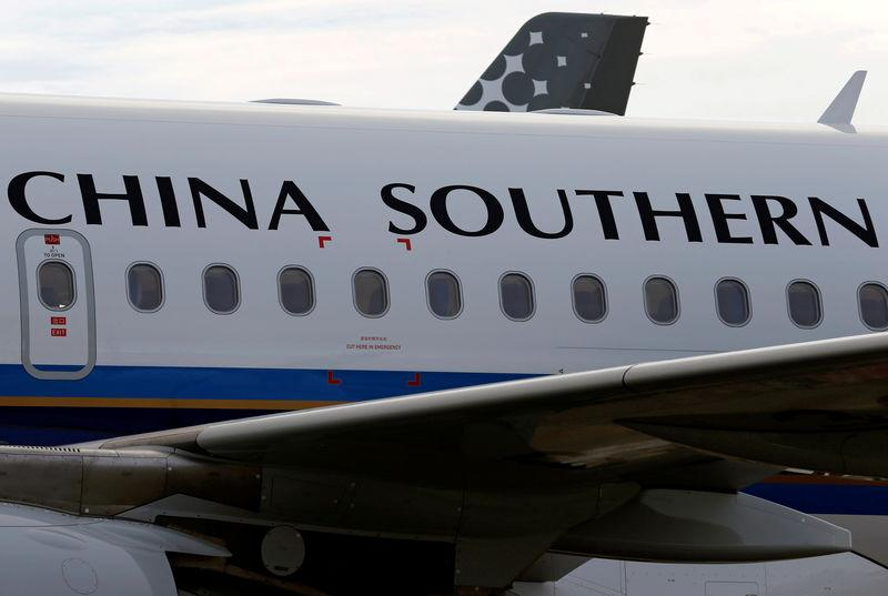 FILE PHOTO: China Southern Airlines Airbus commercial passenger aircraft is pictured in Colomiers near Toulouse