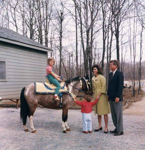 <p>The Kennedy family enjoys quality time outdoors.</p>