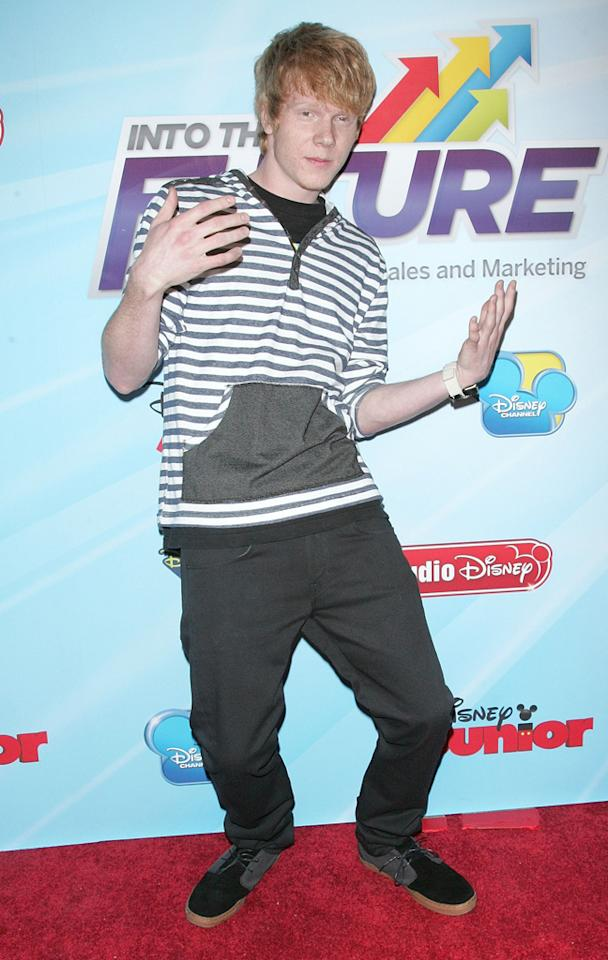 Adam Hicks attends the 2012-13 Disney Channel Worldwide Kids Upfront at the Hard  Rock Cafe - Times Square on March 13, 2012 in New York City.