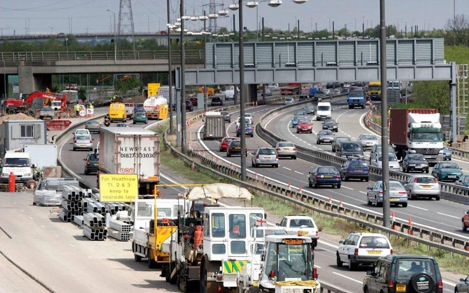 When you stop and start in traffic, you tend to use up a lot of fuel very quickly - Getty