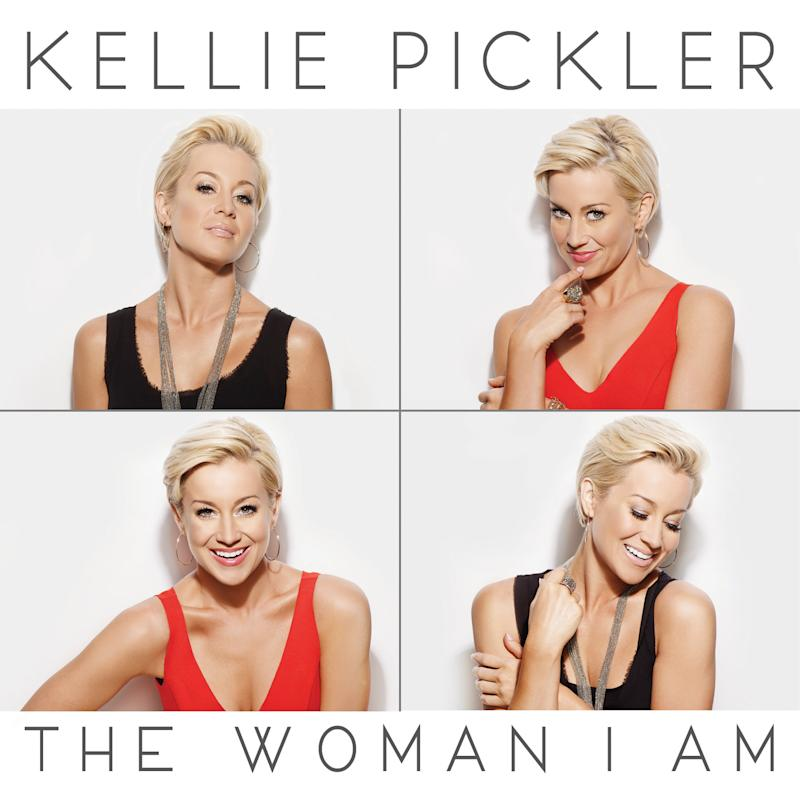 "This CD cover image released by Black River Entertainment shows ""The Woman I Am,"" by Kellie Pickler. (AP Photo/Black River Ent.)"