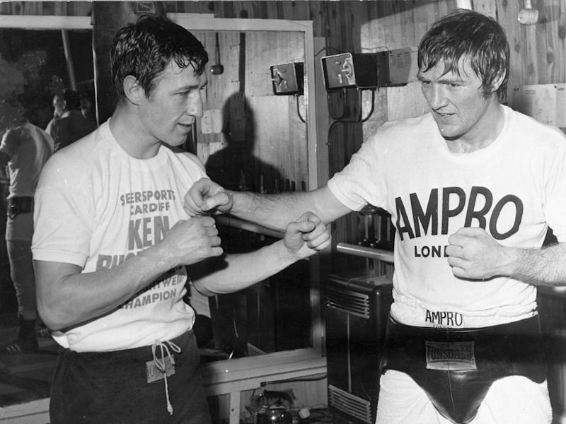 Buchanan would go on to share a dressing room with the great Muhammad Ali (Getty)