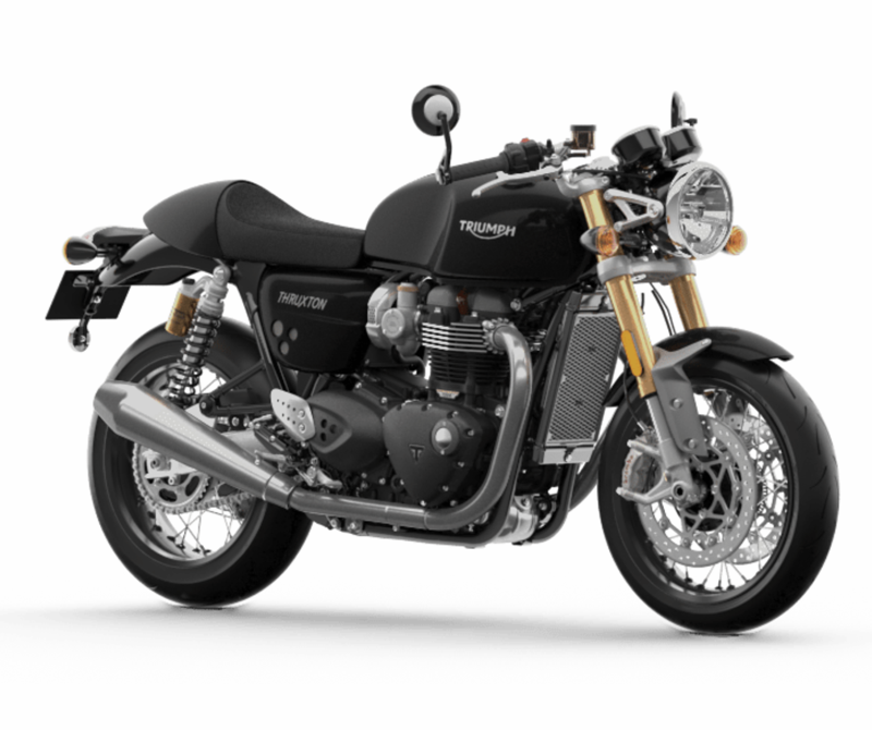 """<p><strong>triumph</strong></p><p>triumphmotorcycles.com</p><p><strong>$16200.00</strong></p><p><a href=""""https://www.triumphmotorcycles.com/motorcycles/classic/thruxton-rs/thruxton-rs"""" target=""""_blank"""">Shop Now</a></p><p><strong>Engine:</strong> 1,200cc parallel twin 