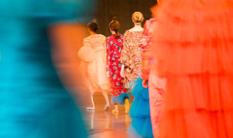 Molly Goddard's tulle-filled creations are always one to watch [Photo: Getty]